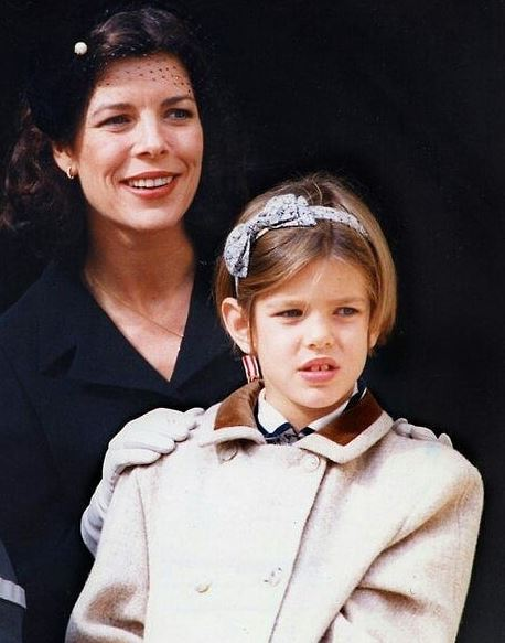 Charlotte Casiraghi Throwback