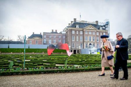 Beatrix Opent Tentoonstelling The Garden Of Earthly Worries