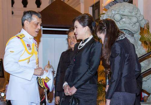 Thailand Royalty King Mourning