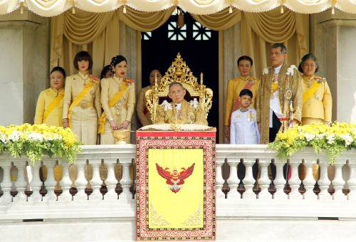 Thailand Royals King Birthday
