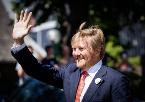 Netherlands King Visits Village In Context Of Corona Crisis