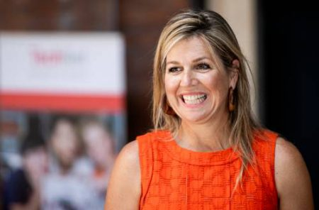 Maxima Makes Working Visits To Apeldoorn And Woerden