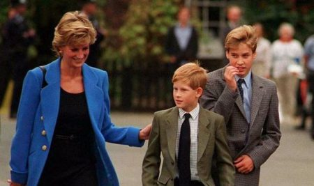 Harry William Diana Throwback