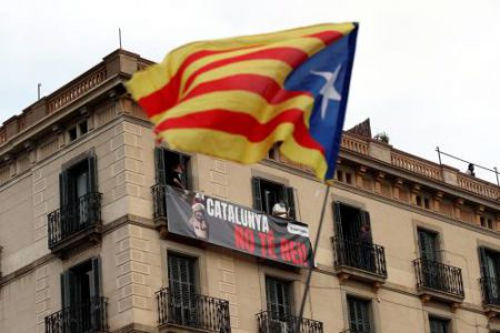 Spain Catalonia Protests