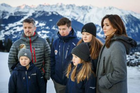 Switzerland Danish Royal Family