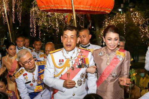 Thailand Royalty Late King Anniversary