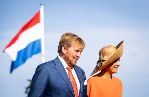 Netherlands Royal Couple Pay Visit To Friesland