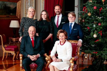 Norway Royalty Christmas