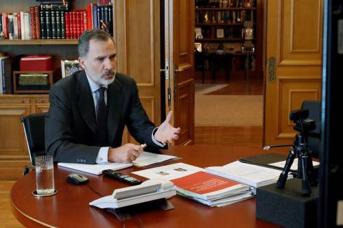 Spain Royals King Felipe Vi Art Museum