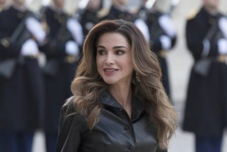 (file) Jordan Royalty Queen Rania Birthday