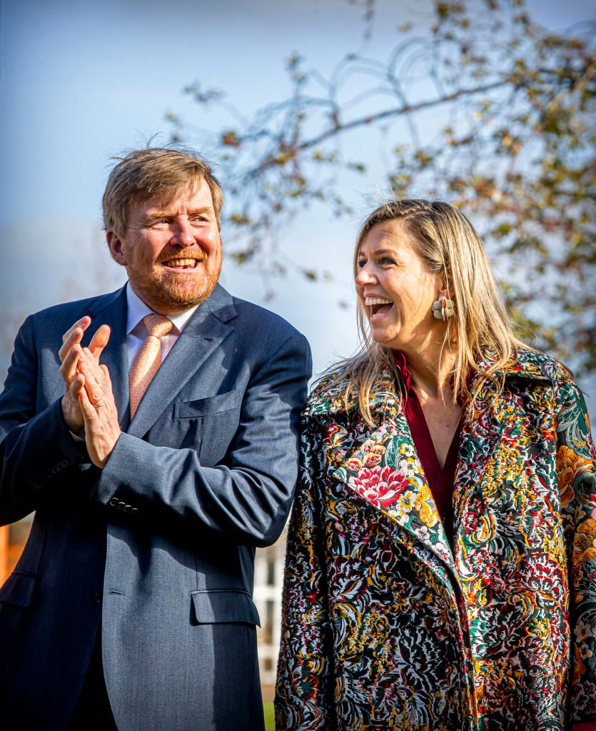 King Willem Alexander Of The Netherlands And Queen Maxima Attend Kingsday Games In Amersfoort